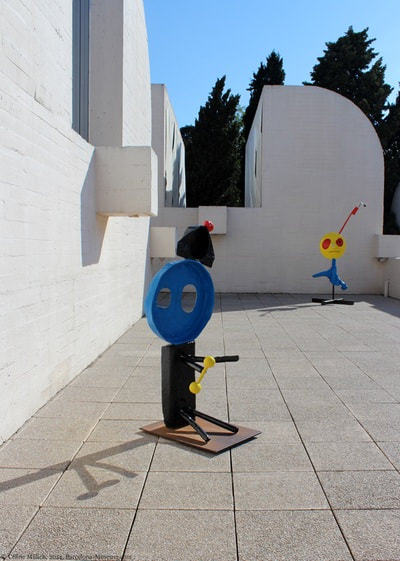 la Fundation Miró à Barcelone